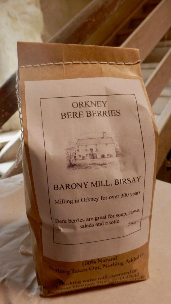 Orkney Bere Berries - 12.5kg